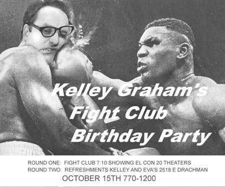 Fight Club Bday