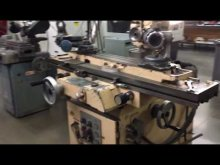 Embedded thumbnail for Good Tour of Tool and Cutter Grinders