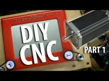 Embedded thumbnail for Fixed Gantry DIY CNC Router