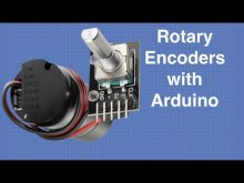 Embedded thumbnail for Arduino + Rotary Encoder