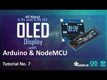 Embedded thumbnail for OLED + Arduino/NodeMCU + I2c