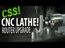 Embedded thumbnail for CNC Lathe + Router