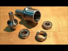Embedded thumbnail for Live Center in a Drill Press Chuck